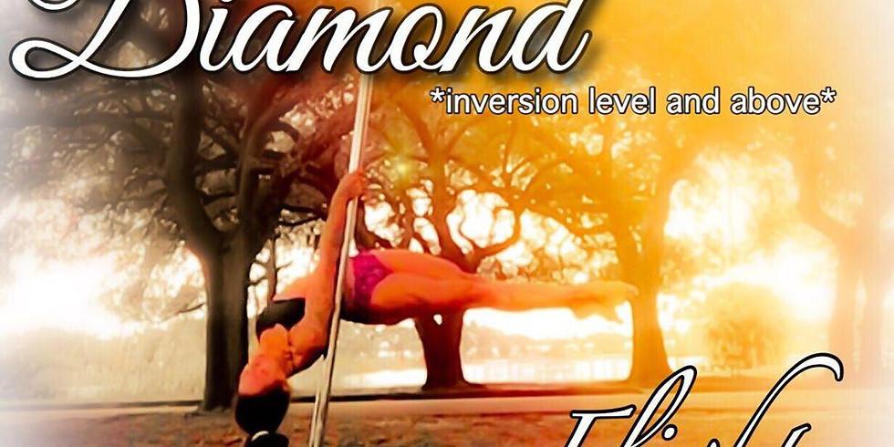 Isis Diamond Workshop: Aerial/Flying Pole 6:15-7:15 PM