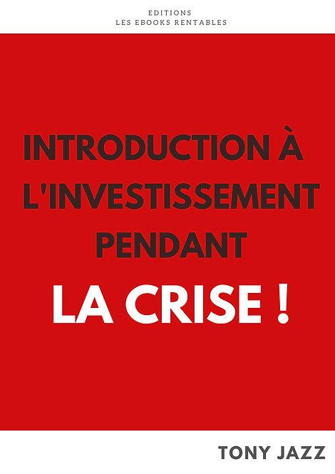 Introduction à l'investissement pendant la crise