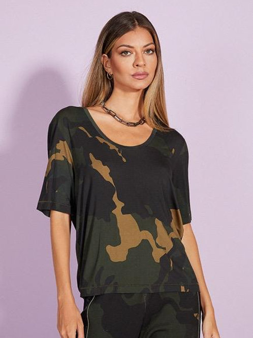 Blusa Camouflaged