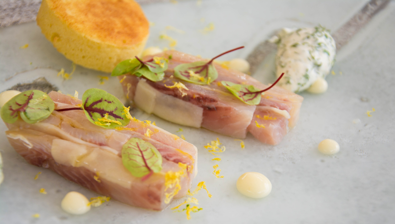 Chez yoann conte c t jardin veyrier du lac recettes - Restaurant cote jardin lac 2 ...