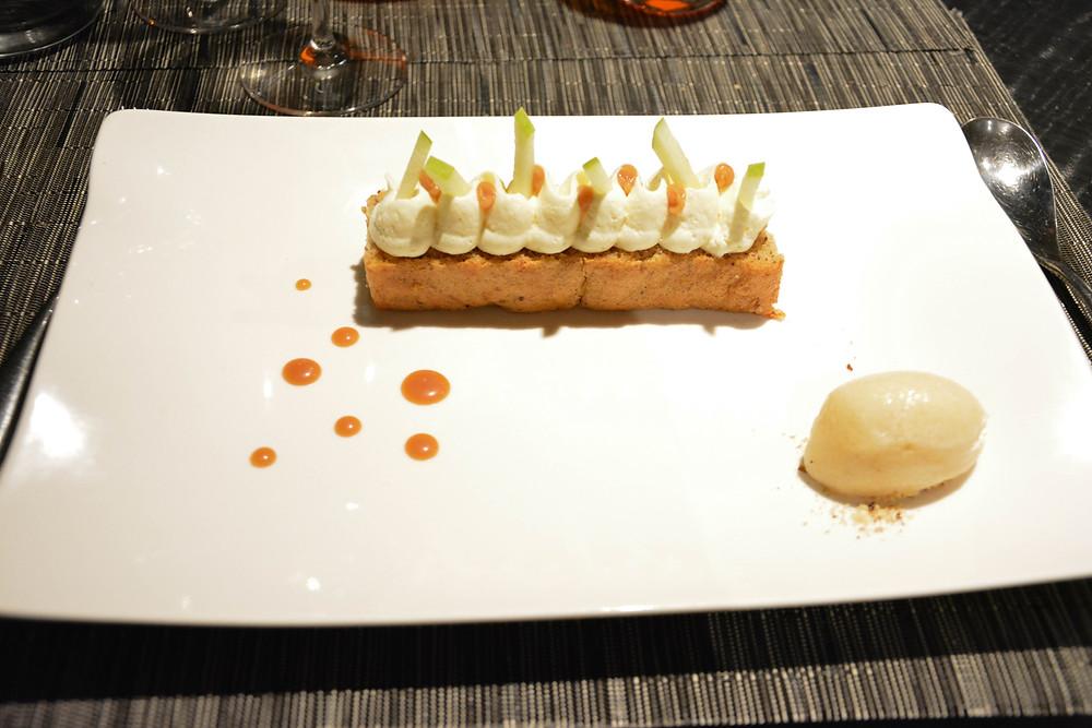 Dessert au pommes.