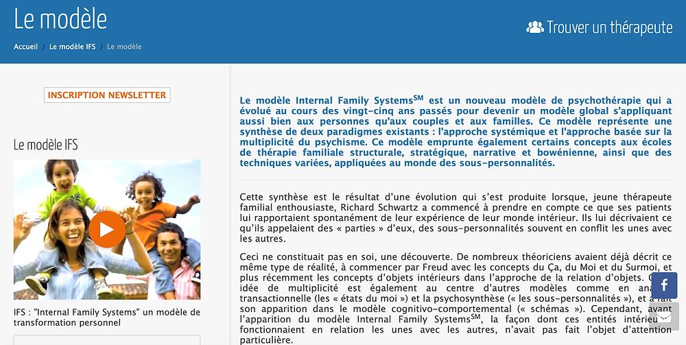 IFS  Association - IFS francophone