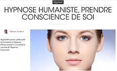 Article Hypnose Humaniste