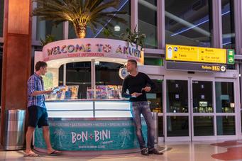 AIRPORT ARUBA FLYER STAND