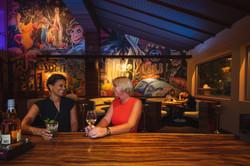 Lobby Restaurant wallpainting