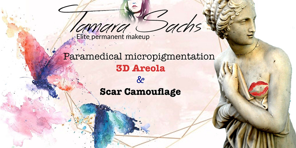 3D Areola & Scar Camouflage with Tamara Sachs