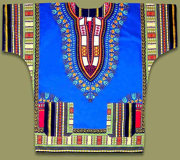 African shirt (Blue)
