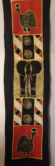 African table runners/Wall hangings - Ele & Guinea
