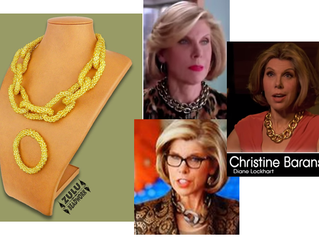Look 'Off the Chain' Diane Lockhart style
