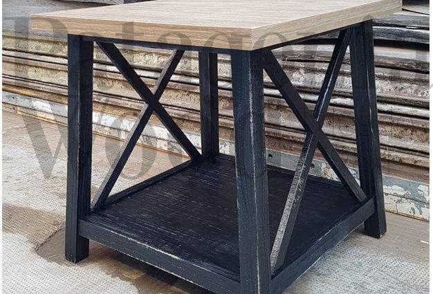 Mesa de costado sillón 1 estante