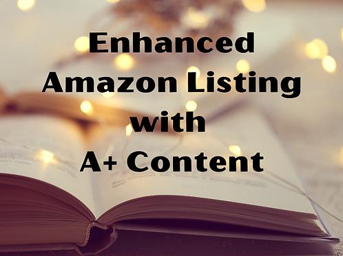 Enhanced Amazon Listing