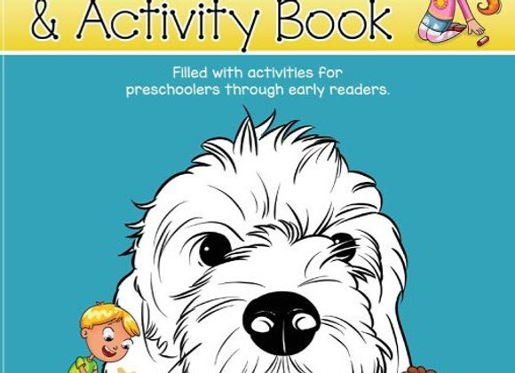 The Little Labradoodle & Friends Coloring and ActivityPages