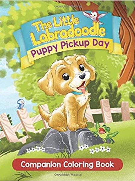 Puppy Pickup Day Companion Coloring Book