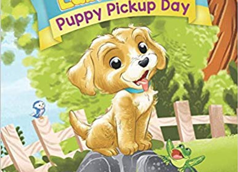 Puppy Pickup Day Coloring & Activity Book