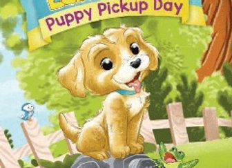 Companion Coloring Book: Puppy Pickup Day