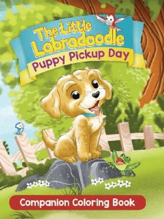 Companion Coloring Book: Puppy Pickup Day