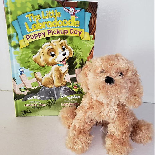 Puppy Pickup Day Hardcover & Plush