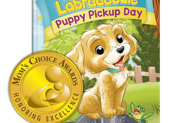 Puppy Pickup Day (Hardcover) - Signed by Author