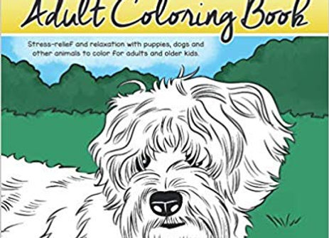 Doodle Lovers Adult Coloring Book
