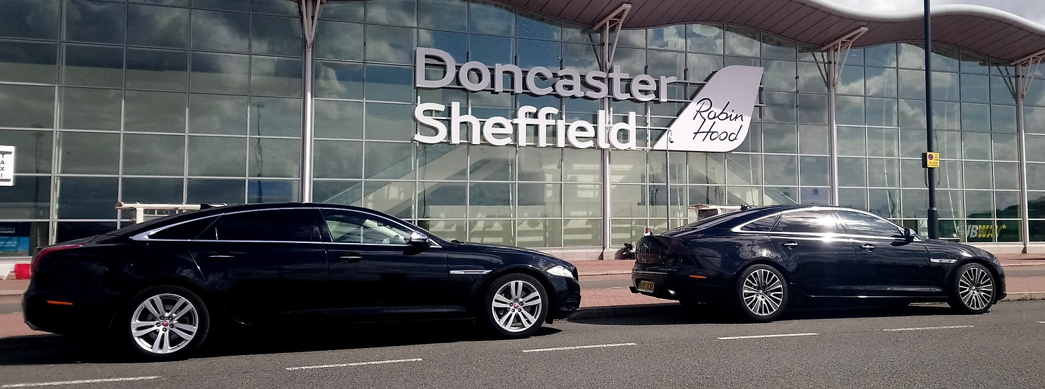Executive travel airport transfer services to Doncaster Sheffield airport