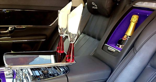 Luxury wedding car transfers in South Yorkshire
