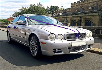 Luxury Silver Jaguar X.J.L. in Wakefield