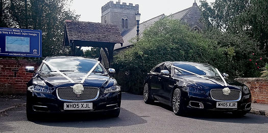 Jaguar Wedding car hire in Wakefield