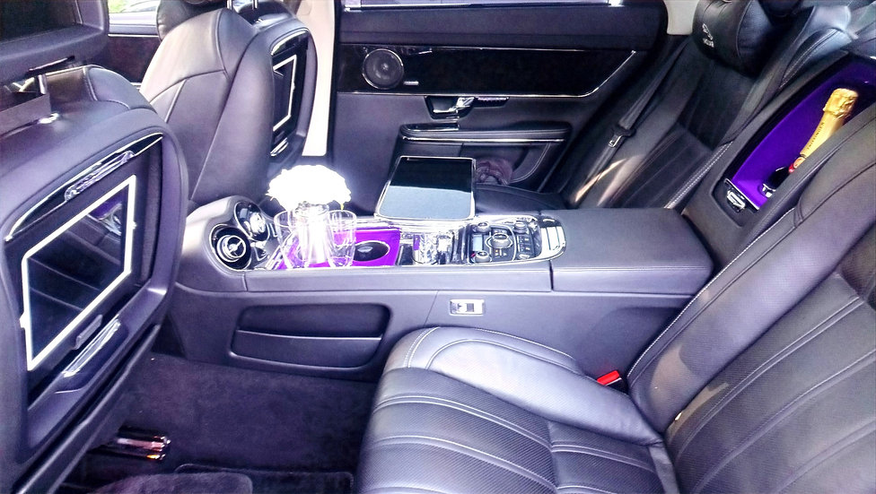 Champagne wedding car hire