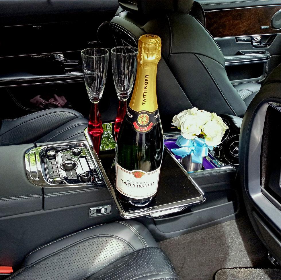 "Luxury wedding cars hire the Jaguar ""Ult"