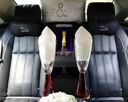 Luxury wedding car transfers