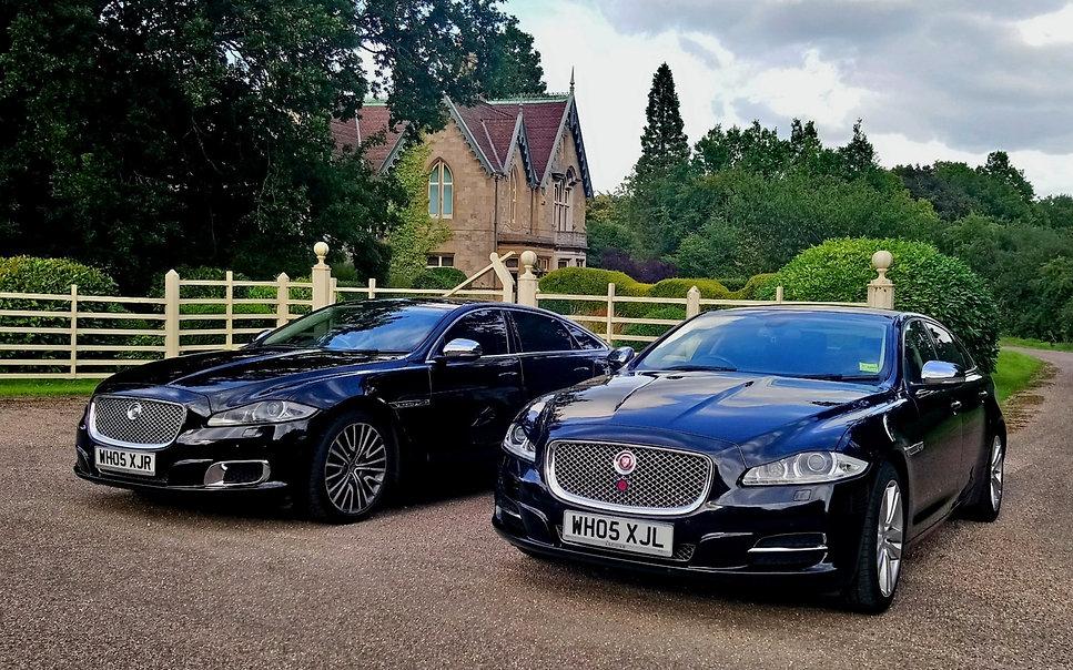 Jaguar XJL executive chauffeur services_