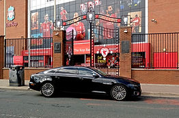 Chauffeurs services to Anfield  Liverpoo