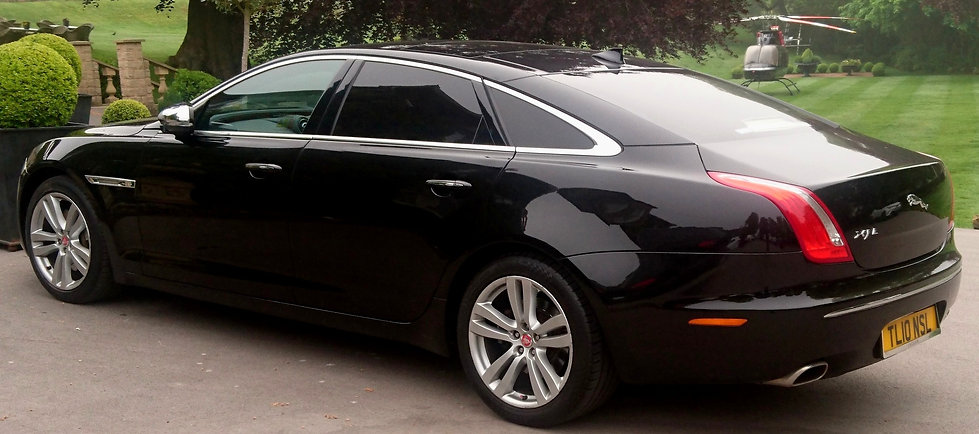 Executive chauffeurs in Grimsby, Humberside.
