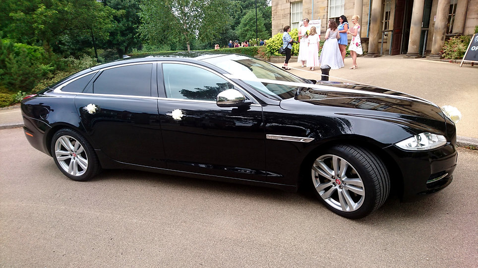 Yorkshire wedding car hire