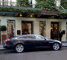 Executive travel chauffeur services in R