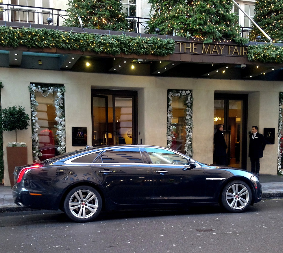 Professional executive travel chauffeur services