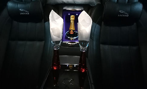 Luxury Jaguar wedding cars