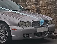 Classic Jaguar wedding cars