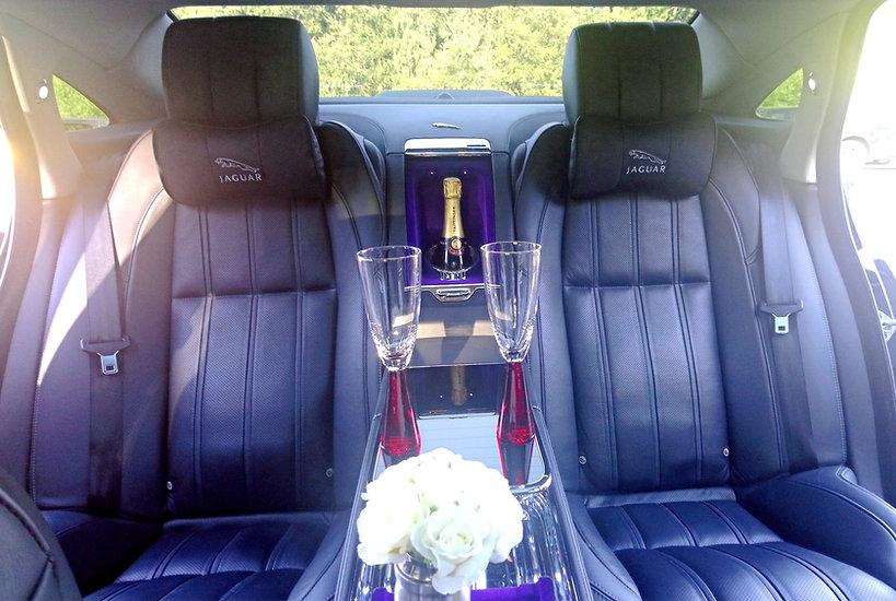 Luxury Jaguar Ultimate wedding car hire_