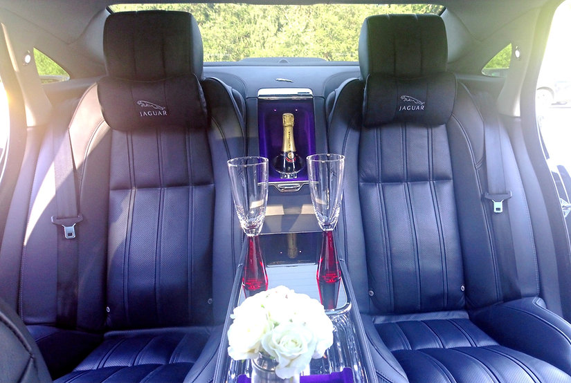 Luxury Jaguar Ultimate wedding car hire_