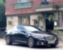 Rotherham chauffeur hire : Ultiate Jaguar Wedding car hire_
