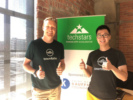Townfolio accepted into TechStars Kansas City!