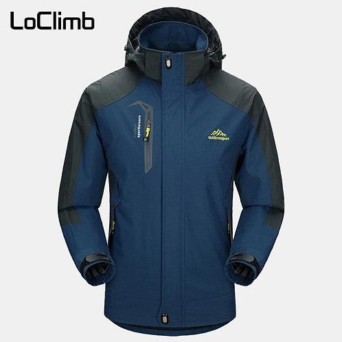 LoClimb Men's Spring/Autumn Outdoor/Hiking Jacket Men Mountain