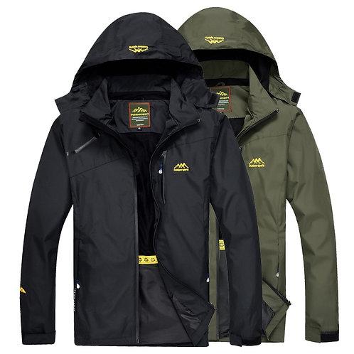 Men's Outdoor Hiking Jacket Spring Sports Rain  and Waterproof Jackets
