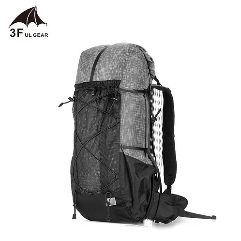 3F UL GEAR Water resistant Hiking Backpack Lightweight Camping Pack