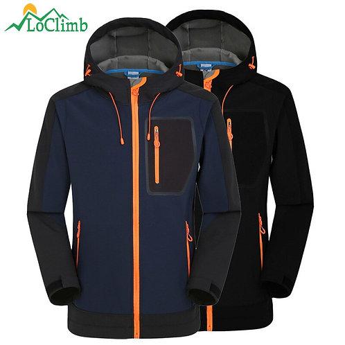 Softshell Jacket Men Windproof Waterproof Jacket Men's Soft Shell Windbreaker