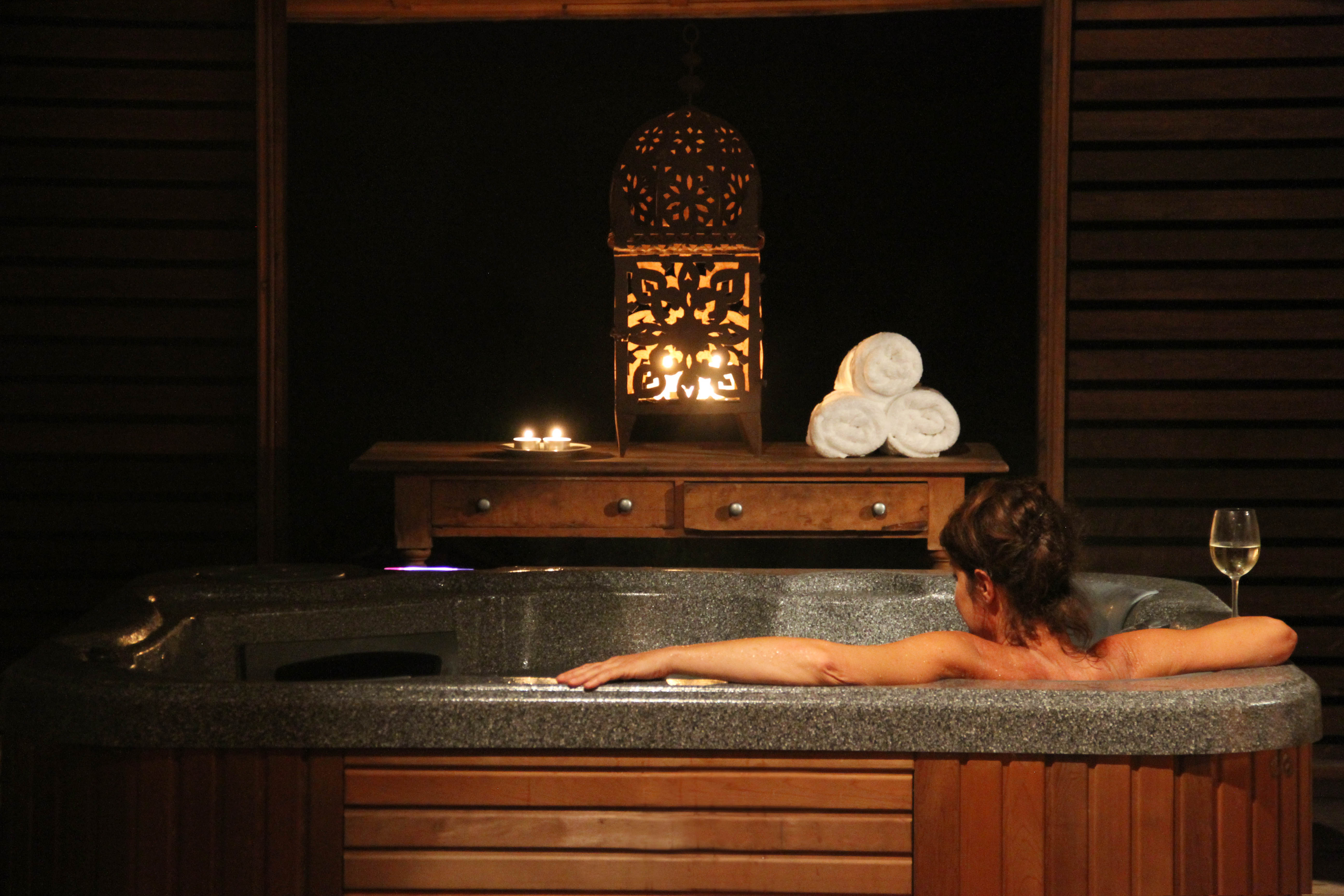Luxury Heated Spa