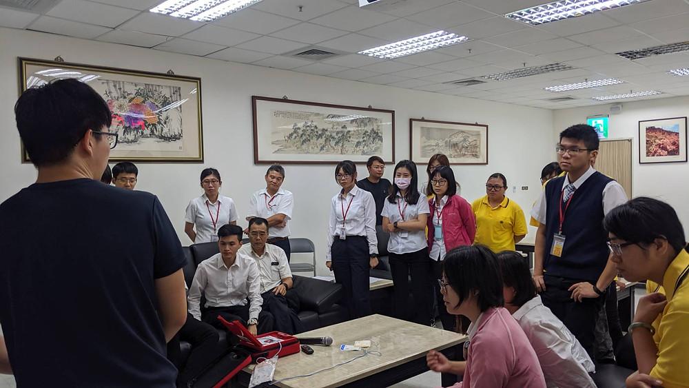 花蓮火車站教育訓練