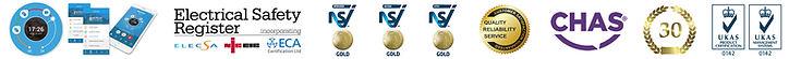 Accreditations, NSI Gold, CHAS, ELECSA