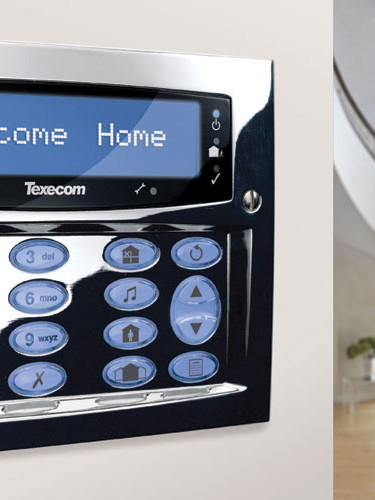 Halifax Security Texecom Keypad